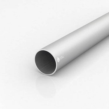 Труба круглая алюминиевая ПАС-0466 50х2 / AS серебро