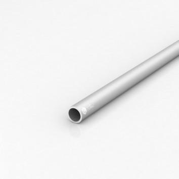 Труба круглая алюминиевая ПАС-1298 20х2 / AS серебро