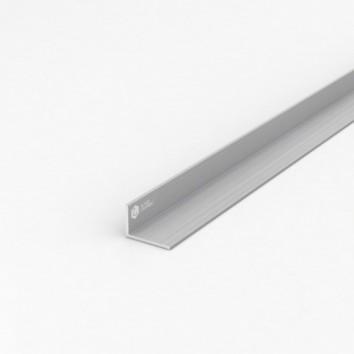 Уголок алюминиевый ПАС-1093 30х20х2 / AS серебро
