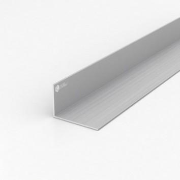 Уголок алюминиевый ПАС-1560 60х40х2 / AS серебро