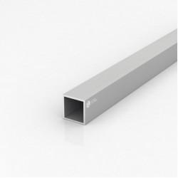 Труба квадратная алюминиевая ПАС-1950 30х30х2 / AS серебро