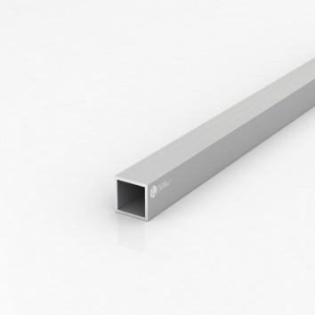 Труба квадратная алюминиевая ПАС-2033 25х25х2 / AS серебро