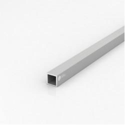 Труба квадратная алюминиевая ПАС-2062 20х20х2 / AS серебро