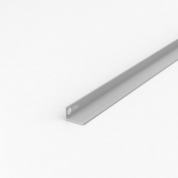 Уголок алюминиевый ПАС-1109 25х15х1.5 / AS серебро