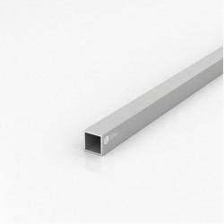 Труба квадратная алюминиевая ПАС-0131 20х20х1.5 / AS серебро
