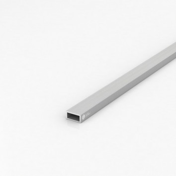 Труба прямоугольная алюминиевая ПАС-1760 20х10х1.5 / AS серебро