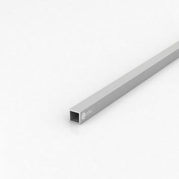 Труба квадратная алюминиевая ПАС-1865 15х15х1.5 / AS серебро