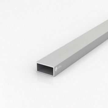Труба прямоугольная алюминиевая ПАС-1541 40х20х2 / AS серебро