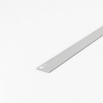 Полоса алюминиевая ПАС-0151 30х2 / AS серебро