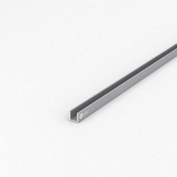 Швеллер алюминиевый (п-образный) ПАС-1220 12х12х1.5 / б.п.