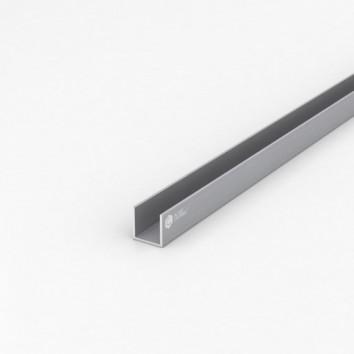 Швеллер алюминиевый (п-образный) ПАА-3088 20х20х1.5 / б.п.