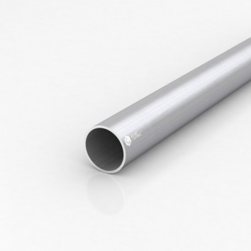 Труба круглая алюминиевая ПАС-0465 40х2 / AS серебро