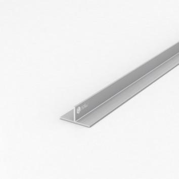 Тавр алюминиевый ПАС-1841 40х20х2 / AS серебро
