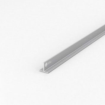 Тавр алюминиевый ПАС-2208 20х20х2 / AS серебро