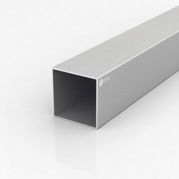 Труба квадратная алюминиевая ПАА-1139 60х60х1.8 / AS серебро