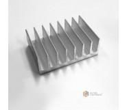 Радиатор алюминиевый охлаждения ПАС-1679 72х26 / без покрытия
