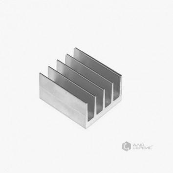 Радиатор алюминиевый охлаждения ПАС-1830 42х26 / без покрытия