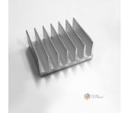 Радиатор алюминиевый охлаждения ПАС-2038 79х35 / без покрытия