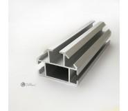 Полукруглый профиль для торговых систем T2633 / AS серебро