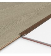 Порог алюминиевый декоративный П30 28х2х0,9 м орех