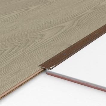 Порог алюминиевый декоративный П30 28х2х2,7 м орех