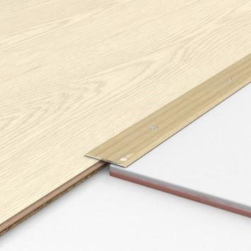 Порог алюминиевый декоративный П40 40х2,5х0,9 м дуб белый