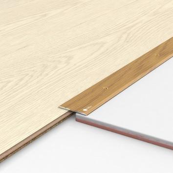 Порог алюминиевый декоративный П40 40х2,5х1,8 м рустик