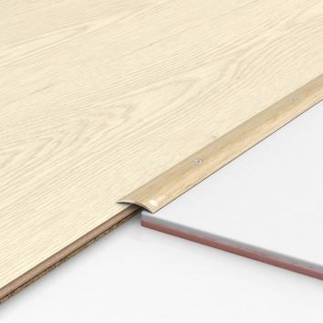 Порог алюминиевый декоративный ПК30 28х5х2,7м фиам светлый
