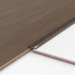 Порог алюминиевый декоративный ПК30 28х5х1,8м венге