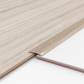 Порог алюминиевый декоративный ПК40 40х5х1,8м акация
