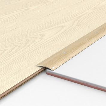 Порог алюминиевый декоративный ПК40 40х5х1,8м фиам светлый