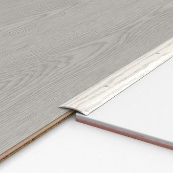 Порог алюминиевый декоративный ПК40 40х5х0,9м секвойя