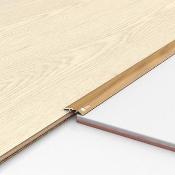 Порог алюминиевый декоративный ПКс30 28,2х5,4х0,9м рустик