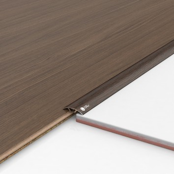 Порог алюминиевый декоративный ПКс30 28,2х5,4х1,8м венге