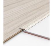 Порог алюминиевый декоративный ПКс40 39х5,4х2,7м дуб арктик