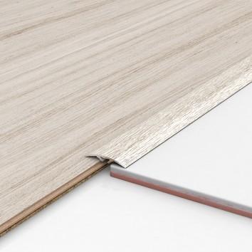 Порог алюминиевый декоративный ПКс40 39х5,4х0,9м дуб арктик