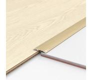 Порог алюминиевый декоративный ПКс40 39х5,4х2,7м дуб белый