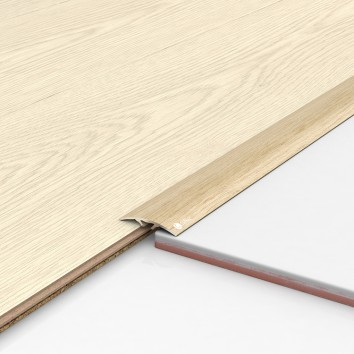 Порог алюминиевый декоративный ПКс40 39х5,4х2,7м фиам светлый