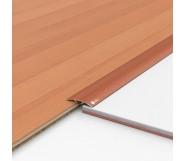Порог алюминиевый декоративный ПКс40 39х5,4х2,7м ольха