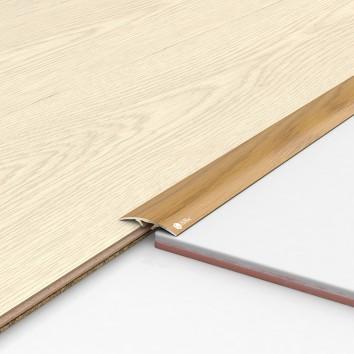 Порог алюминиевый декоративный ПКс40 39х5,4х0,9м рустик