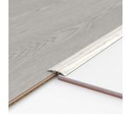 Порог алюминиевый декоративный ПКс40 39х5,4х2,7м секвойя