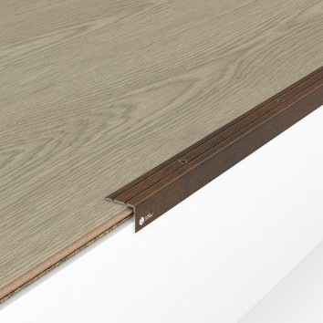 Порог алюминиевый декоративный У2025 23,5х19х0,9 м орех