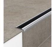 Порог алюминиевый уличный УР 5020 47,8х19х3 м без цвета, без вставки ПВХ
