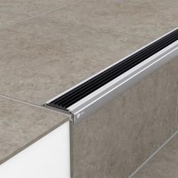 Порог алюминиевый уличный УР 5020 47,8х19х1 м без цвета, без вставки ПВХ