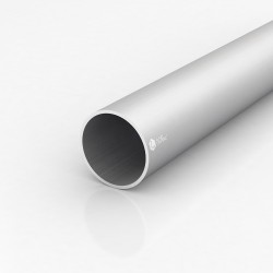 Труба круглая алюминиевая ПАС-1225 60х2.5 / AS серебро