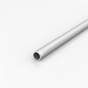 Труба круглая алюминиевая ПАС-1994 22х2 / AS серебро