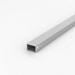 Труба прямоугольная алюминиевая ПАС-0518 30х20х1.5 / AS серебро