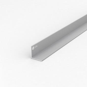 Уголок алюминиевый ПАС-1363 25х25х2 / AS серебро