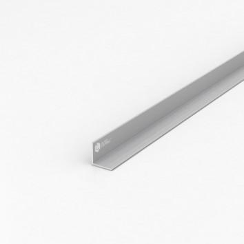 Уголок алюминиевый ПАК-0025 20х20х1 / AS серебро