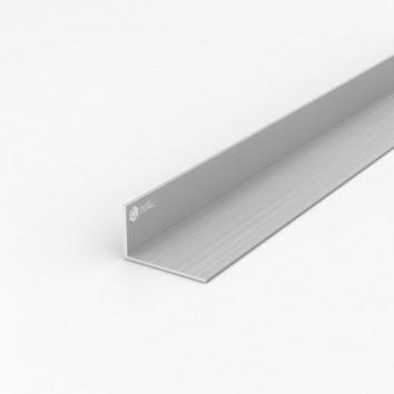 Уголок алюминиевый ПАС-0098 50х30х2 / AS серебро
